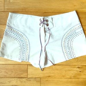 Pants - Occi Verdi polyester shorts